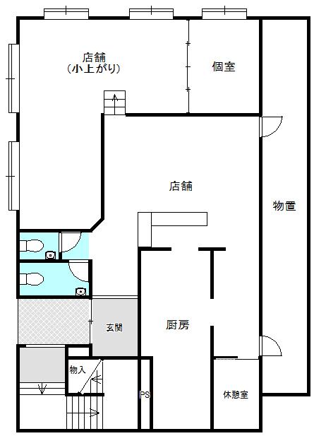 タカヒサ第三ビル 1階